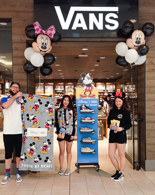 The front of the Vans store in Yorkdale, Ontario